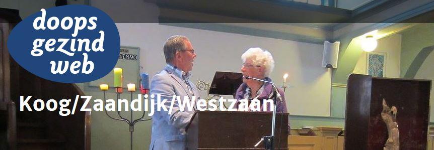 Doopsgezinde gemeente Koog / Zaandijk / Westzaan heeft een nieuwe website!