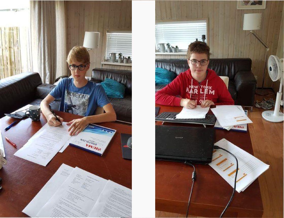 Niels van den End en Jonas ter Haar nieuwe medewerkers Ligare